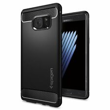 Spigen Galaxy Note FE Case Rugged Armor Black