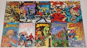 Badger #1-70 VF/NM complete series - mike baron - first comics - vietnam vet set