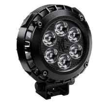"KC Hilites 1300 Single LZR LED 4"" Black Round Driving Light (Off Road)"