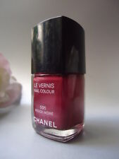 595 ROUGE MOIRE CHANEL VERNIS NAIL VARNISH NEW NO BOX BUT DAMAGED OR CRACKED CAP