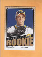 2009 10 O PEE CHEE TYLER ENNIS MARQUEE ROOKIE #780 BUFFALO SABRES RC