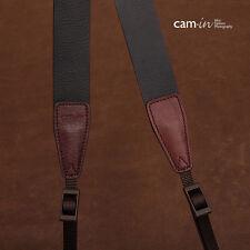 Réglable Cuir Marron Foncé Cam-In DSLR Caméra Lanière CAM2247 Stocks UK