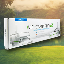Alfa WiFi Camp Pro 2: R36A Router +Tube +9dbi Outdoor Omni Antenna Repeater KIT