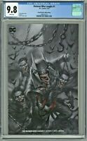 Batman Who Laughs #1 CGC 9.8 Lucio Parrillo Black & White Edition Variant Cover