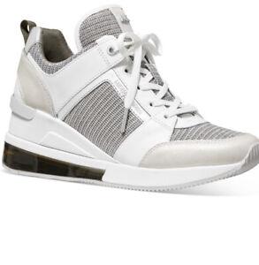 Michael Kors Women's Georgie Trainer Extreme Sneakers Khaki Size 5,5 ❤️❤️❤️