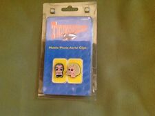 thunderbirds mobile phone aerial clips PARKER AND LADY PENELOPE very rare