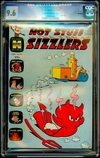 Hot Stuff Sizzlers #22 Harvey CGC 9.6 Nov-65 – Steam Roller