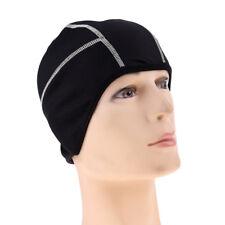 Cycling Beanie Running Helmet Liner Skull Cap Outdoor Head Warmer Hats White