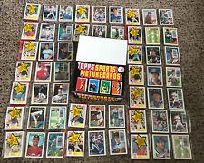 Lot of 18 - 1988 Topps rack packs w/ Canseco On Top + Display Box Glavine Rc?
