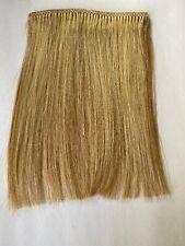 """6"""" Human Hair Extensions streaks Bangs Blonde On Strawberry Blonde #27 4.5"""" Wide"""