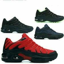 Mens Air Shock Absorbing Running Sneaskers Casual Lace Gym Walking Sports Shoes