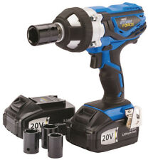 Draper Storm Force 1/2 Inch Cordless Impact Wrench (20v) With 2 Li-Ion Batteries