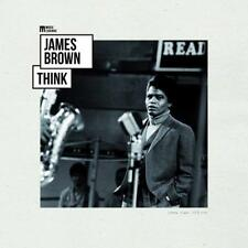 JAMES BROWN - THINK MUSIC LEGENDS  VINYL LP NEW