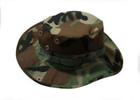 Airsoft Tactical Military Outdoor Fisherman Hunting Boonie Hat Cycling Cap WLD