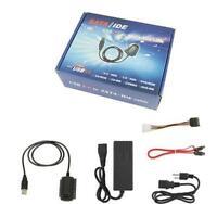 USB 2.0 to IDE SATA S-ATA 2.5 3.5 Hard Drive HD HDD Converter Adapter Cable XG