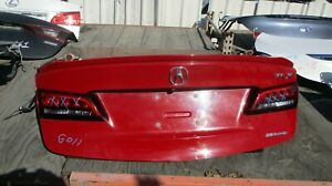 ACURA TLX TRUNK LID 2015-2017, RED COLOR, LOCAL PICK UP ONLY!
