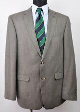 BENVENUTO Wool+Linen Textured Pattern UK 42L Blazer EUR 52L Long 102 Sakko Jacke