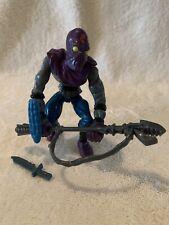 1988 Foot Soldier Ninja Turtles Collectible TMNT Vintage Figure with weapons