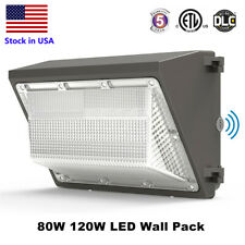 Led Wall Pack Outdoor Light With Photocell Dusk To Dawn Wallpack Led Light 5000k