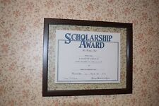 11x14 SIZE GRADUATION DIPLOMA FRAME FREE FLOATING BROWN METAL WOOD TONE FINISH