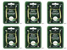 "(6) Deluxe Plate Hangers 3""- 5"" BRASS Wire Display Tripar 23-1303"