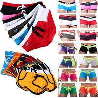 Sexy Men's Boy Boxer Briefs Swimming Swim Shorts Trunks Swimwear Pants Underwear