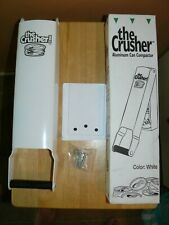 The Crusher - Pacific Precision Metals Aluminum Can Compactor, White  NEW