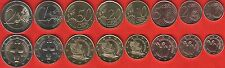 Cyprus euro full set (8 coins): 1 cent - 2 euro 2016 UNC