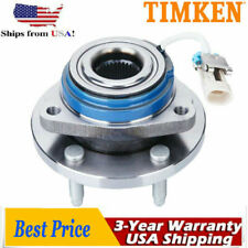 Timken Front Wheel Hub Bearing Assembly Chevy Buick Cadillac 5 Lug with ABS