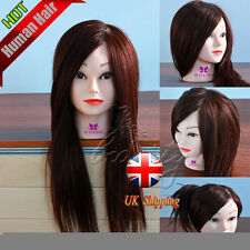 NEW Style College Student Use 70% Real Human Hair Training Mannequin Head Model