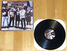 THE VINDICTIVES Leave Home LP ORIGINAL 1994 PRESS screeching weasel.lillingtons