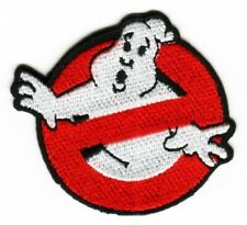 SMALL GHOSTBUSTERS FABRIC PATCH FILM MOVIE BIKER SCOOTER FANCY DRESS COSTUME
