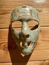Vintage 1960's Goalie Goaltender Ice Hockey Face Mask Custom Molded