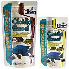 Hikari Cichlid Excel Wheat Germ & Spirulina Rich Daily Diet Free Shipping