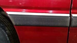 1989 Chrysler Lebaron Right Quarter Panel Molding/Trim (Black Textured)