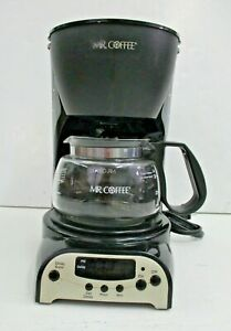 Mr. Coffee Model DRX5 Black 4 Cup Coffee Maker with Carafe WORKS