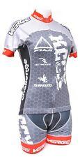 Verge KCCX Short Sleeve Cycling Kit Women M/S Jersey Bib Shorts CX Road Bike MTB