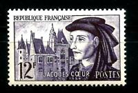 FRANCE  1955 Jacques CŒUR  YT n° 1034  Neuf ★★ luxe / MNH