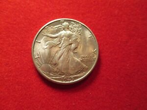 1945 D WALKING LIBERTY HALF DOLLAR NICE BU