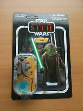 STAR WAR: REVENGE OF THE SITH: YODA, UN-PUNCHED, VINTAGE COLLECTION, VC20, 2010!
