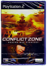 PS2 Conflict Zone (2002), UK Pal, New & Sony Factory Sealed