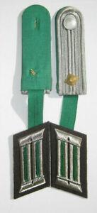 NVA Schulterstücke Grenztruppen der DDR  Effekte äh Wehrmacht Kragenspiegel DDR