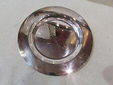 ancienne assiette plat rond metal argenté poinconné christofle