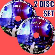 Costruisci Mantenere & Riparare il tuo PC desktop computer DVD passo per passo le guide Video