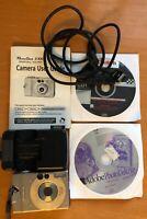 Canon PowerShot S100 2MP Digital ELPH Camera Kit IXUS 2x Optical Zoom