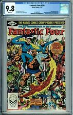 FANTASTIC FOUR 236 CGC 9.8 WP 20TH ANNIVERSARY ISSUE NEW CGC CASE Marvel 1981