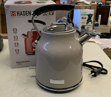 Haden Dorset 1.7L Stainless Steel Kettle with Auto Shut Off, Beige Open Box
