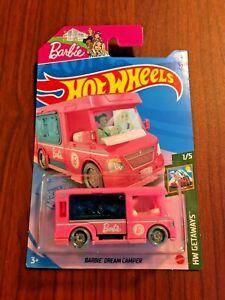 NEW 2021 Hot Wheels Barbie Dream Camper #21/250 HW Getaways 1/5