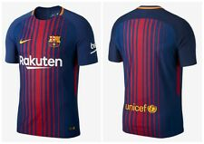 NIKE FC BARCELONA HOME STADIUM JSY ORIGINAL CAMISETA BARCA 2017 847255 456 NEW