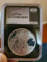 "2016 NGC PF70 $2 Silver ""YODA"" Early Release/Ultra Cameo/Black Core"